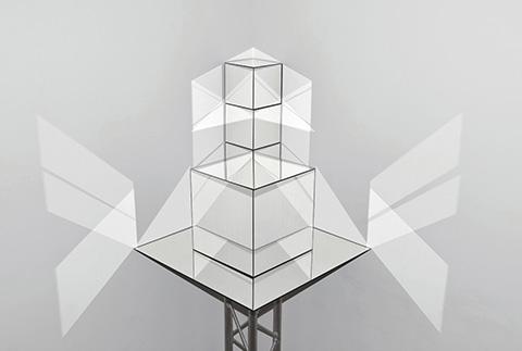 Dominique Teufen Blitzlicht-Skulpturen
