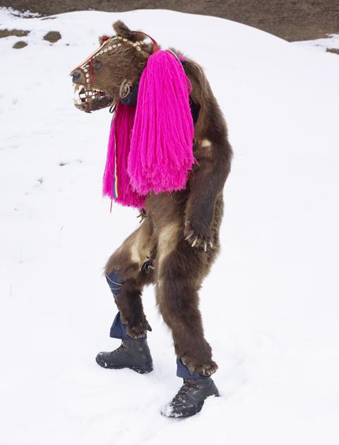 Charles Fréger, Ursul din Palanca, Romania, WILDER MANN, 2010-2011